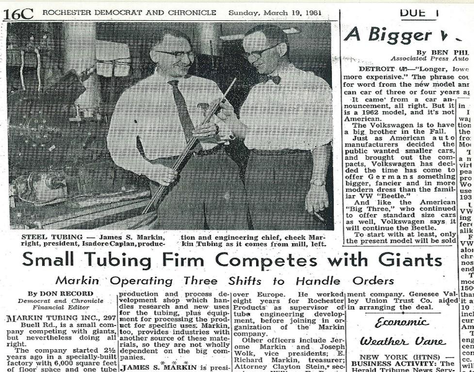 Democrat and Chronicle 1961